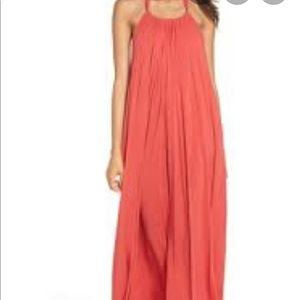 Elan backless maxi dress cover up
